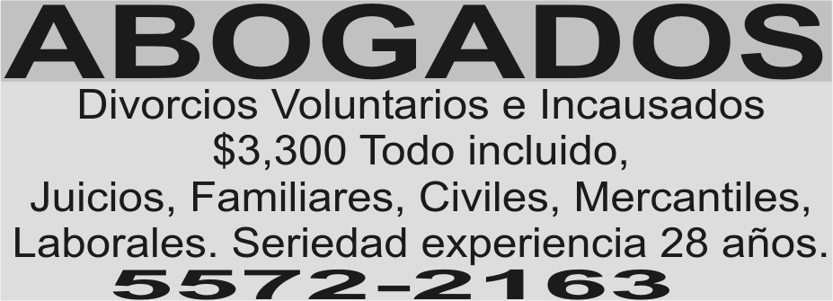ABOGADOS 