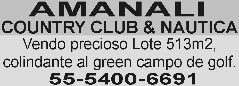 AMANALI