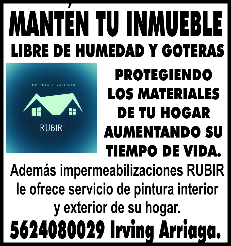 MANTEN TU INMUEBLE